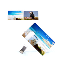Plastic Credit Card USB 2.0 Flash Driver 4GB