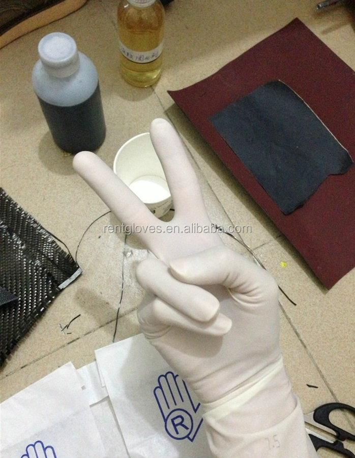 High quality Discount Export Malaysia disposable sterile latex surgical gloves medical manufacturers