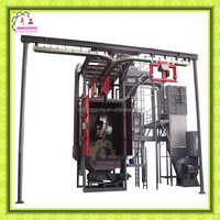 Through Type Automatic Hook Shot Blasting Equipment for Steel Surface