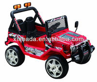 12v 2 seater Style Ride on Jeep with Twin Motors Language