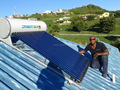 Higher Heat Collection Rate Solar Water Heater For Mexico/India