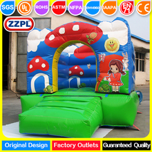 China small inflatable play center, mini inflatable jumping play center for kids