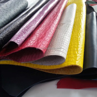 PVC Artificial Leather Pu Leather Material