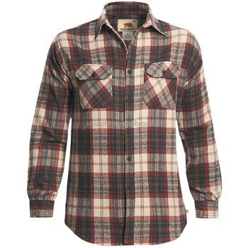 Winter Cotton Flannel shirts Jeans shirt