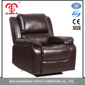 Alibaba supplier wholesale living room furniture leather manual recliner sofa