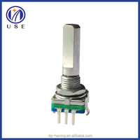 Incremental rotary encoder with push on switch for Multi-Speaker