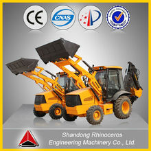 rc excavator, XINIU / Rhinoceros brand small backhoe loader XNWZ74180-4L, 7t backhoe loader for sale