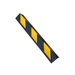 Yellow and black color right angle rubber wall corner protector wall corner guard,parking corner guard