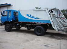Good price for 8 cubi meter 4x2 used garbage compactor truck