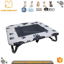 Foldable Metal Canopy Pet Dog Bed