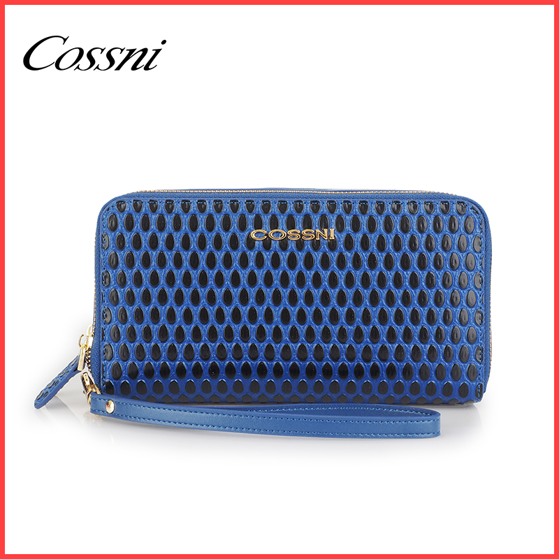 female wrist wallets ladies purse double pocket and zipper with phone case ,buy direct from china factory