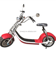 China newest 1000w fat tire city coco electric scooter with lower price