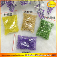 China made crushed mixed crystal glass seed beads in bulk