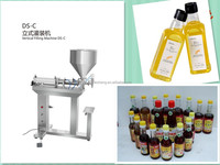 DS-C-500 Vertical semi-automatic Pneumatic Liquid Filling machine bottling machine for water, oil ,juice shampoo