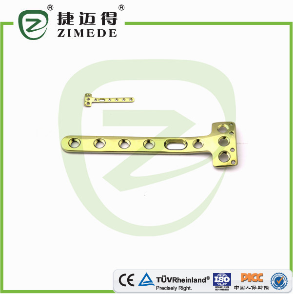 T- locking plate surgical instrument implants