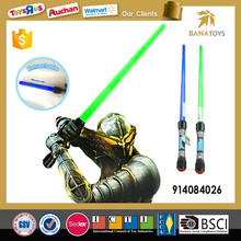 Kids New Retractable Toy Swords with Sound and Light
