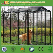pvc coated welded dog kennel supplier