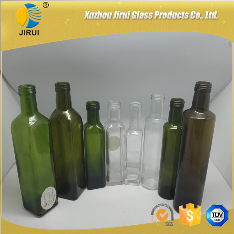 empty glass olive oil bottles wholesale