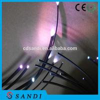 led fibre illuminator for star sky or under water lighting fiber optic lighting
