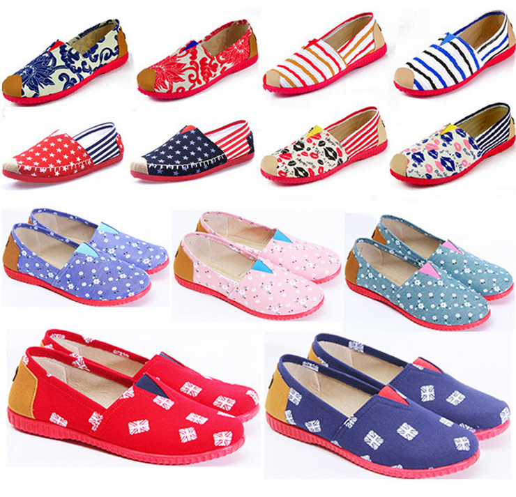 New style best selling canvas shoes wholesale