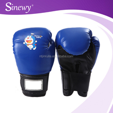 Funny printed training mini pu boxing gloves for car