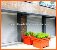 automatic roller shutter garage door