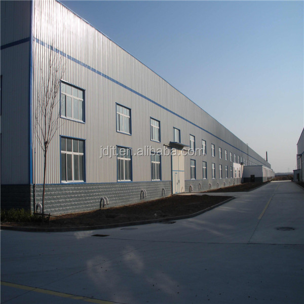 Steel structure warehouse workshop factory building drawings and manufacture