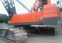 shanghai used condition good Hitachi 180t crawler crane for sale / kobelco crawler crane with excellent condition