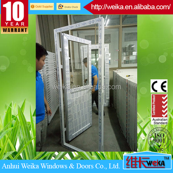 CONCH profile PVC glass door/ panel door