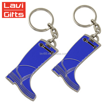 Top Sale Custom 3D Soft Enamel Bulk Mini Shoe Keyring Keychain Key Chain