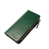Japanese leather wallet men with YKK zipper