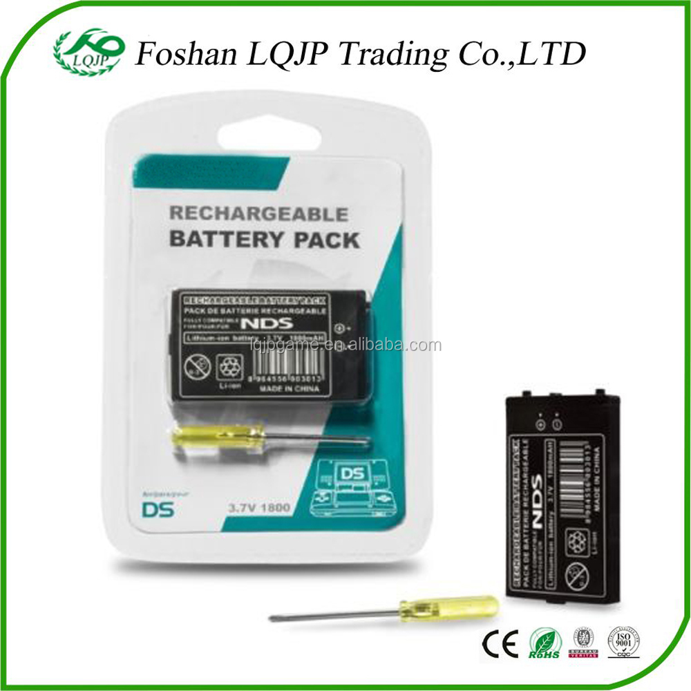 New for Nintendo DS Rechargeable Battery Pack w/ Screwdriver for DS
