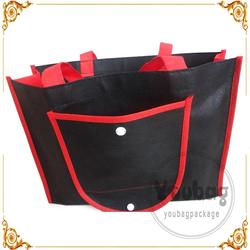 recycled pp non woven bags foldable tote bag