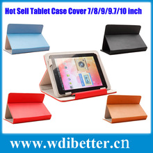 Adjustable Mount Colorful Universal 7 Inch Android Tablet PC Case PU Leather Cover Built-in Card buckled