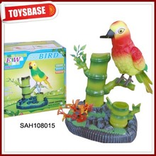 Voice control small animals plastic toys birds
