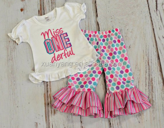 children boutique clothing lovely babies ruffle shorts outfit