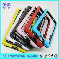Dual Color 2 IN 1 TPU PC Hybrid Bumper Case For HTC One M7