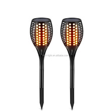 Solar Path Torches Lights Waterproof Flame Lighting 96LED Flickering Torch Lights for Garden Pathways Yard