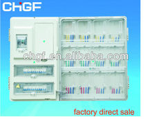 GF single phase 12 gang combination plastic kwh meter box