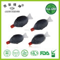 small package fish shaped soy sauce