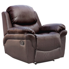 Malaga LEATHER RECLINER ARMCHAIR SOFA HOME LOUNGE CHAIR RECLINING GAMING