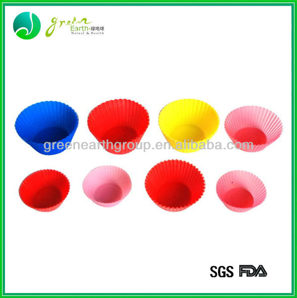 2013 Eco-friendly mini silicone cake baking molds