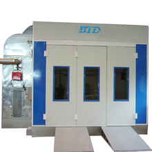 BTD Hot sales CE certificated car spray paint booth
