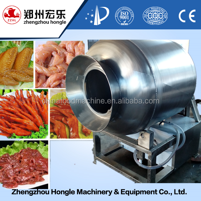 Vacuum Roll Kneading Machine / Meat Rolling And Rubbing Machine