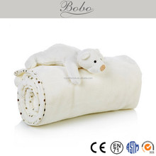 high quality new design baby cuddle bear blanke <strong>toy</strong>
