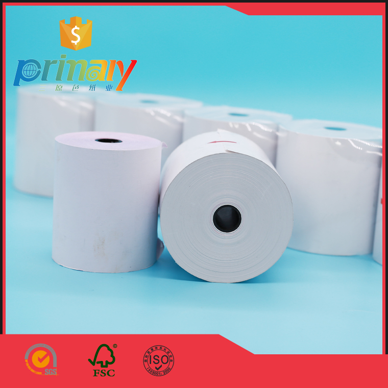 thermal paper rolls with dfferent individual packing silver golden and black bag