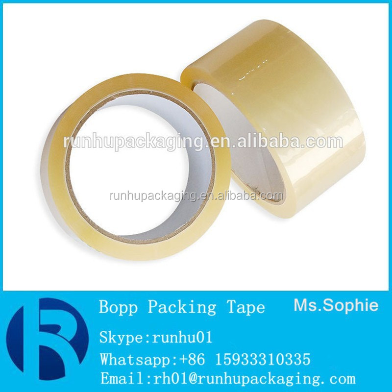 Ten years exporting experiences Bopp Adhesive Tape for shipping boxes
