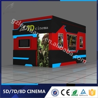 Wonderful 7D Movies Electric Platform 4D 5D 6D 7D Cinema Box