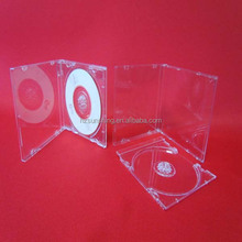 portable hard plastic cd dvd case