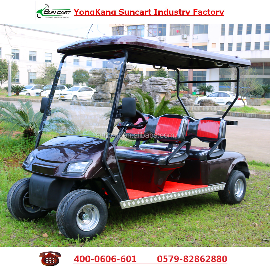 CE certification approved 4 Seats electric golf cart for sale for golf course